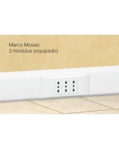 Marco Mosaic 3/Mod Blanco Legrand