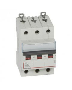 Int Automático 3X20A C 6-10Ka Legrand