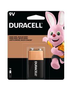 Bateria Alcalinas Duracell (9V) Pack 1 Unidad