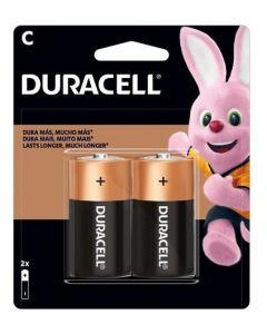 Pilas Alcalinas Duracell (Tipo C) Pack 2 Unidades