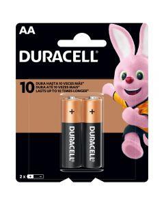 Pilas Alcalinas Duracell (Tipo AA) Pack 2 Unidades
