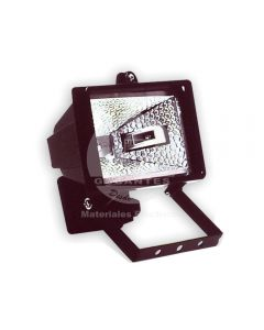 Reflector Halógeno 500W C/Ampolleta (118 mm) R7S Luz Cálida Ekoline