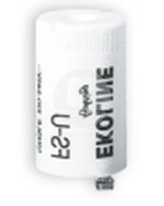 Partidor Plastico Universal 4-65W C/Condensador Ekoline