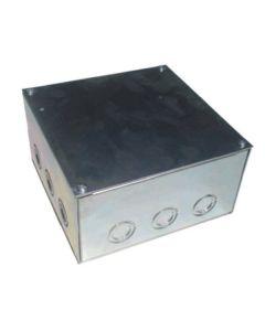 Caja B-22 200X200X100Mm Galv. C/Tapa - Empotrada