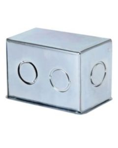 Caja A-01 Galv. (100X65X65) C/Tapa - Empotrada