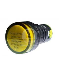 Luz Piloto LED Amarillo 220V 22 mm Ekoline