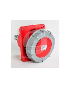 Hembra Empotrada Inclinada IP-67 3P+N+T 125A 380V 3856 Ide