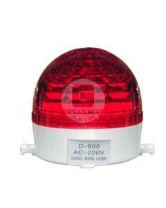 Baliza Roja Estroboscópica 220V Ekoline