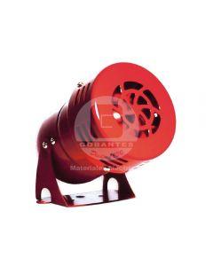 Sirena Mini Roja 220V Ekoline