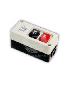 Botón Partida-Parada P/Caja Metálica 30A Ekoline