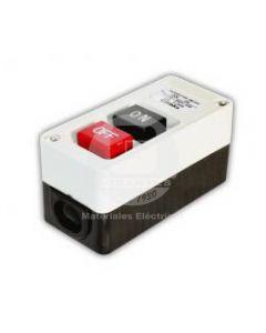 Botón Partida-Parada P/Caja Plástica 15A Ekoline