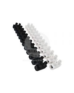 Regleta Plástica de Conexión (2.5-4 mm) 12P Negra Ekoline