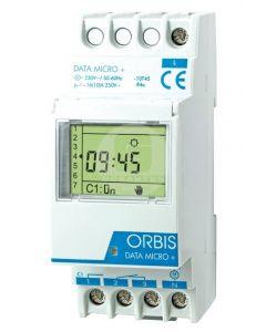 Interruptor Horario Data Micro 1 Conmutado Digital Orbis