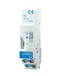 Temporizador 3-30 min. 10A Orbis