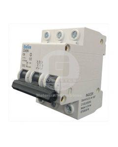 Interruptor Automático 3 x 6A 6K Curva C Ekoline