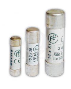 Fusible Cilíndrico 10A S/Indicador 8.5 x 31.5 mm Lento Df