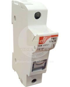 Portafusible Seccionable 14 x 51 mm Unipolar