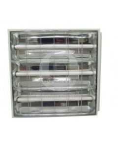 Equipo Fluorescente Alta Eficiencia Empotrado 3x18 Balasto Electrónico Ekoline