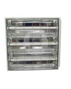 Equipo Fluorescente Alta Eficiencia Empotrado 2x40 Balasto Electrónico Ekoline