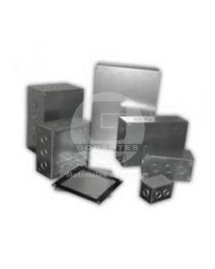 Caja A-01 C/Tapa Zincada (100 x 65 x 65 mm) Ekoline