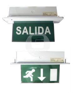 Equipo Emergencia LED Salida Empotrado Techo 3 hrs Ekoline