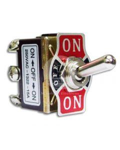 Switch Toggle 3 Posiciones 250V 15A Ekoline