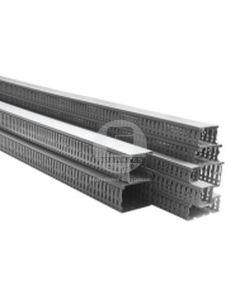 Canaleta Ranurada 80 x 60 mm Gris 14060 CCZ Efapel