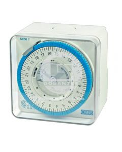 Interruptor Horario Mini-T Sobrepuesto QRD 220-240V 100 hrs Orbis