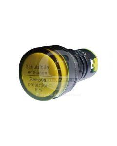 Luz Piloto LED Amarillo 24V 22 mm Ekoline
