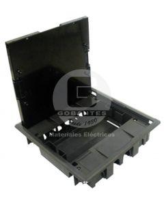 Caja Empotrable Rectangular 16 Módulos Negra 83008 Efapel