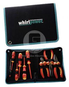 Set Alicates y Destornilladores Aislados 9 PCS Whirlpower