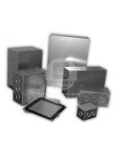 Caja B-15 Galvanizada C/Tapa (150 x 150 x 100 mm) Ekoline