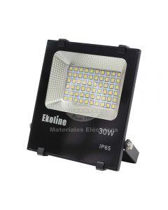 Proyector de Area LED Ekoled 30W Luz Fría Ekoline
