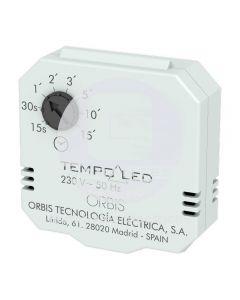 Temporizador 15 seg.-15 min. 220-240V Tempo LED Orbis