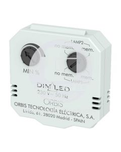 Regulador Luminosidad DimLED 220-240V Orbis