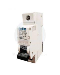 Interruptor Automático 1 x 63A 10K Curva C Ekoline