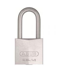 Candado Aluminio Anodiz Arco 40Mm Plata